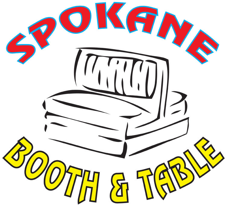 Spokane Booth and Table